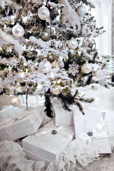 100 White Christmas Tree Ornaments Ideas White Christmas Christmas Decorations Christmas