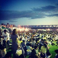 なにわ淀川花火大会2012