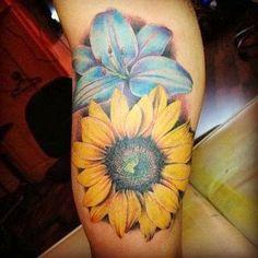sunFlower Shoulder Tattoos for Women | Best sunflower tattoo Flowers Tattoo Designs