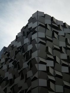 The iconic 'Sugarcube' car park in Sheffield by London-based architects Allies and Morrison