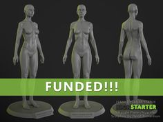 David Richardson is raising funds for The Female Planar Statue on Kickstarter! An affordable, high quality scale half planar / half realistic female figure. A good addition to your anatomy collection. Science Drawing, Poses, Drawing Lessons, Human Anatomy, Zbrush, Figure Painting, Drawing Reference, Human Body, Sculpture