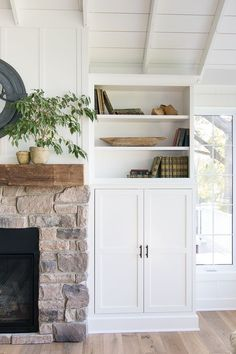 Hidden tv cabinet built-ins. How to hide your tv on a swivel mounted arm. Hide it away when not in use, but it pivots out for the whole room to see.