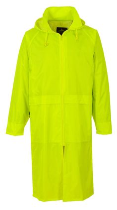 IMPERMEABILE CAPPOTTO LUNGO ANTI PIOGGIA Waterproof Rain Coat Jacket EN343