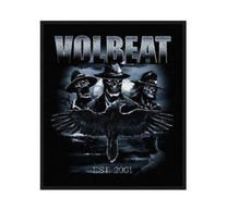 Volbeat Outlaw Raven Patch