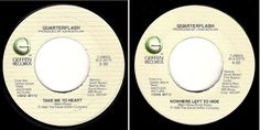 Quarterflash / Take Me to Heart (1983) / Geffen 7-29603 (Vinyl Single), $3.00