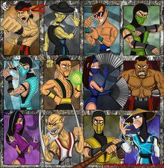 Como no hacer un dibujo basado en lo que consideramos uno de los mejores juego de peleas de la history. ademas de ser el mejor mk, esta en uno de nuestros top 10 de juegos favoritos, enjoy. Mortal ...