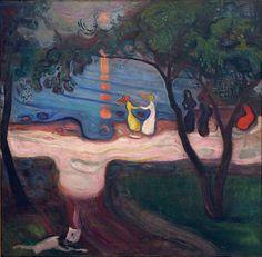 Edvard Munch - Dancing on a Shore by ahisgett, via Flickr
