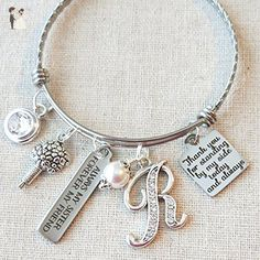 SISTER of the BRIDE Gift, Always My Sister Gift, Personalized Maid of Honor Bracelet, Bridesmaid Bangle,Thank You For Standing By My Side Gift For Sister of the Bride - Wedding bracelets (*Amazon Partner-Link)