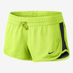 Nike Womens Gym Reversible Training Shorts Large Volt >>> See this great product. (This is an affiliate link) Nike Dri Fit, Shorts Nike, Gym Shorts Womens, Womens Gym, Nike Outfits, Nicole Fashion, Athletic Women, Streetwear Brands, Polyvore Outfits