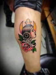 Princess Leia Tattoo 2
