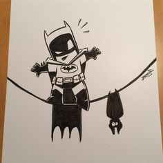 In between commission work I'm also doing some Batman sketching in practice for Batman day next Saturday. Batman Drawing, Marvel Drawings, Batman Art, Batman Chibi, Cartoon Sketches, Art Drawings Sketches, Drawing Cartoons, Joker Cartoon, Cartoon Art