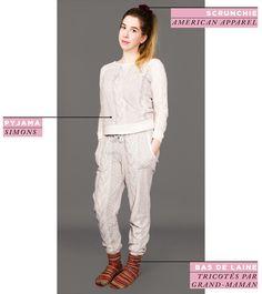 2e Peau American Apparel, Pajama Party, Pants, Outfits, Dresses, Fashion, Pajamas, Wool, Tricot