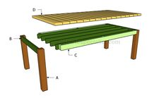 Building a dinning table