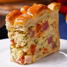 Easter Savory Pie (Pizza Rustica) Recipe by Tasty recipes ideas . Easter Savory Pie (Pizza Rustica) Recipe by Tasty recipes ideas recipes ideas families recipes ideas healthy r Pizza Rustica, Pie Recipes, Appetizer Recipes, Cooking Recipes, Recipes Dinner, Soup Appetizers, Meatless Recipes, Picnic Recipes, Holiday Appetizers