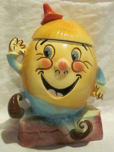 Vintage Sierra Vista Humpty Dumpty Cookie Jar