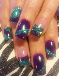 Acrylic nails by Lora @ Just Nails
