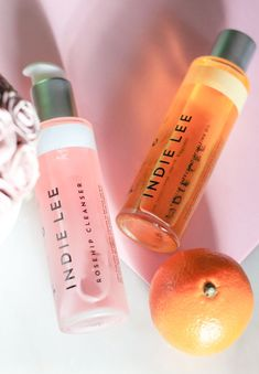 Indie Lee Rosehip Cleanser and Moisturizing Oil