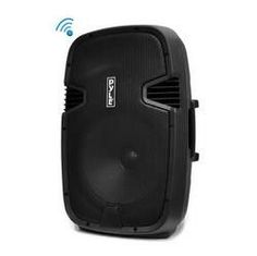 Portable Bluetooth PA Loudspeaker Molded Cabinet Speaker System, 15'' Subwoofer, 5'' Tweeter, USB/SD Card Readers, Guitar & Mic Inputs, FM Radio, 1000 Watt