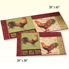 Brighten up your living space, kitchen or foyer with our huge assortment of floor rugs and floor mats for the home that come in all shapes, sizes and colors. Rooster Kitchen, Kitchen Ware, Floor Runners, Rooster Decor, Collections Etc, Accent Rugs, Floor Mats, Colorful Rugs, Latex
