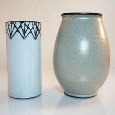 Studio Keramik Vase • Inge Böttger Keramik Wandsbek • + weitere BKW Vase GRATIS