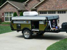 Off Road Pop Up Camper Trailer