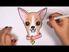 How to Draw a Chihuahua - Cute Dog Drawing Lesson CC - YouTube This is really helpful :)