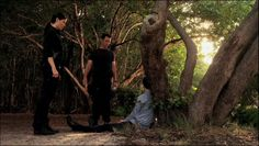"Burn Notice 5x08 ""Hard Out"" - Michael Westen (Jeffrey Donovan), Agent Pearce (Lauren Stamile) & Steve Cahill (Henri Lubatti)"