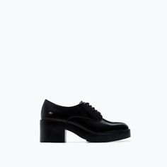 BLUCHER PLATAFORMA-Zapatos planos-Zapatos-TRF | ZARA España