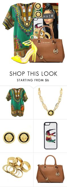 """""""African Reunion Party 2"""" by missk2blue ❤ liked on Polyvore featuring Roial, Charlotte Russe, CellPowerCases and Michael Kors"""
