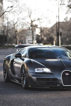 Matte Black Bugatti✖️Bugatti✖️More Pins Like This One At FOSTERGINGER @ Pinterest✖️