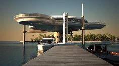 The Water Discus Underwater Hotel in Dubai