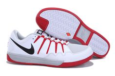 e237afd106c0 Wholesale Nike Zoom Vapor 9 Club Pure Platinum White Action Red Black  487998 001 for cheap