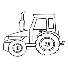 barn tractor coloring pages - photo#18