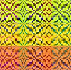 Weavers: Make Your Colors Sing - learn to weave with color, a visual feast Weaving Process, Weaving Techniques, Hand Weaving, Color Puzzle, Visual Texture, Tear, Color Theory, Color Mixing, Singing
