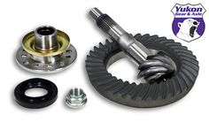 """High performance Yukon Ring & Pinion gear set for Toyota 8"""" in a 4.56 ratio - https://www.4lowparts.com/shop/yukon-gear-ring-pinion-sets/high-performance-yukon-ring-pinion-gear-set-for-toyota-8-in-a-4-56-ratio-3/"""