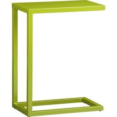Crate & Barrel Green C Table - ShopStyle Living Room Furniture Table, End Tables, Crates, C Table, Lobby Furniture, Accent Table, Crate And Barrel, Coffee Table Crate And Barrel, Furniture