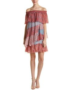 Rebecca Taylor Womens OffShoulder Amanda Dress TangerineMermaid 6 * Learn more by visiting the image link.
