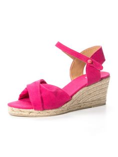 Castaner - ankle strap wedge sandals