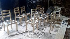We manufacturing minimalist dining #chairs made of #teak. Browse our collection of #teakfurniture Indonesia on http://jeparagoods.com     Jegoods Woodworking Studio Indonesia (@jeparagoods)   Twitter