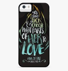 Sarah J Maas Heir... - http://www.casesity.com/products/sarah-j-maas-heir-of-fire-quotes-iphone-6s-case?utm_campaign=social_autopilot&utm_source=pin&utm_medium=pin - #iphone6scase #iphone6pluscase #phonecase