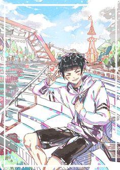 Haikyuu Volleyball, Volleyball Anime, Haikyuu Characters, Anime Characters, Oikawa, Kageyama, Goshiki Tsutomu, Manado, Haikyuu Gif