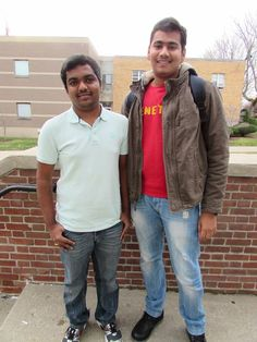 """""""We are both from India studying Computer Science and Engineering. We are studying a lot more this week and sleeping a lot less."""""""