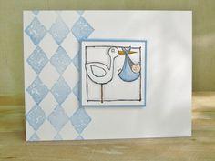 Special Delivery Baby Boy Card
