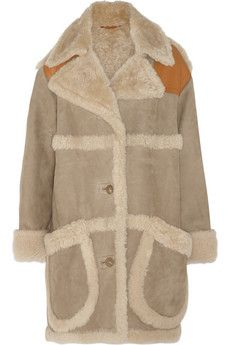 Vintage Beige Shearling Coat | Coats Products and Shearling coat
