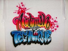 AIRBRUSH, FREE AIRBRUSHING LESSONS - Airbrushing T Shirts what equipment,supplies you'll need