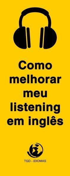 Se você está tentando aprender inglês, é possível que esteja se perguntando repetidamente: como melhorar meu listening?. Saiba mais! #dicasdeinglês #idiomas #cursodeinglês @tgdidiomas
