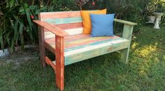 Aztec Loveseat La Lucie Recycled