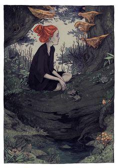 Thomke Meyer Illustrations | The Dancing Rest http://thedancingrest.com/2015/06/18/thomke-meyer-illustrations/