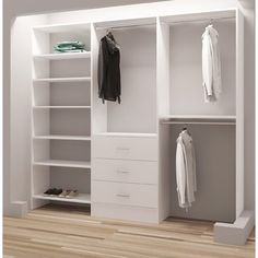 TidySquares Inc, Demure Design 93W Closet System