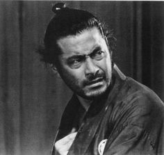 The Samurai Hairstyle - Or How Men With Curly Hair Use Buns! Like this.
